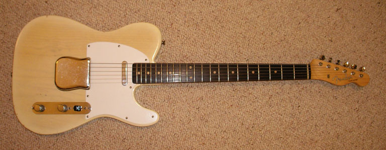 Fender  59 Telecaster White Blond