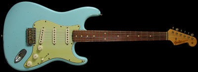 Fender  Daphne Blue 62 RI Stratocaster
