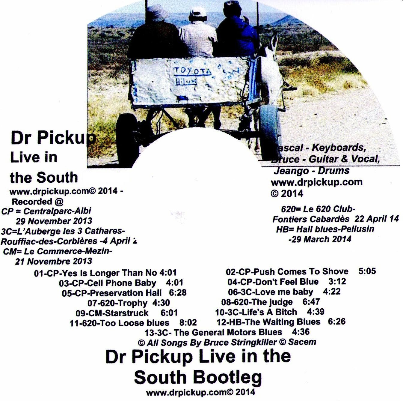 Dr Pickup CD Collectors Down South