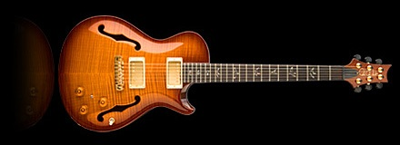 Stringkiller's PRS  Singlecut hollow body with Piezo - the world's best guitar?