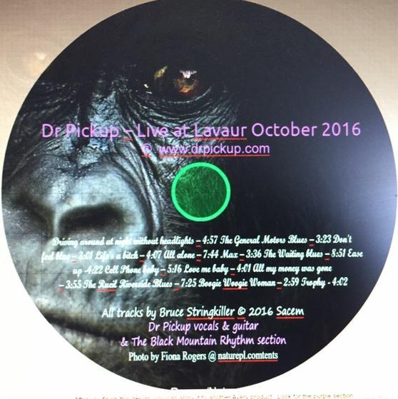Dr Pickup CD Kivu